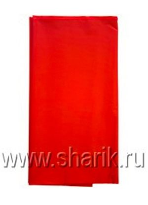 *Скатерть п/э Apple Red 140см х 260 см