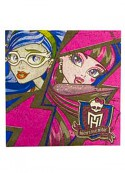 Салфетка Monster High 33см 16шт